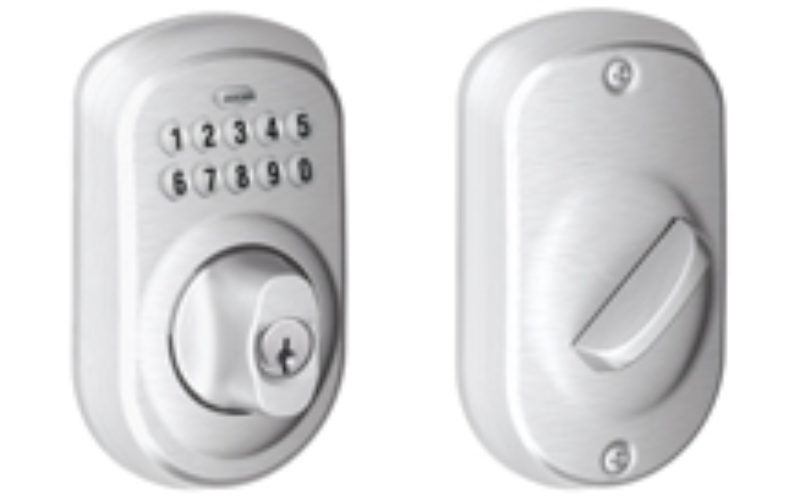 Schlage BE365 Keyless Entry Deadbolt Review