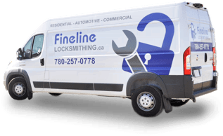 Fineline Locksmithing van | Mobile Locksmith