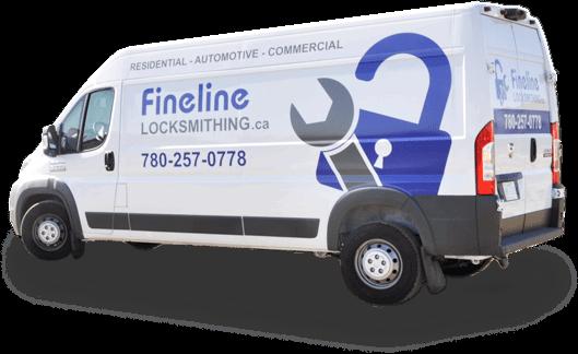 Fineline Locksmithing van | Mobile Locksmith